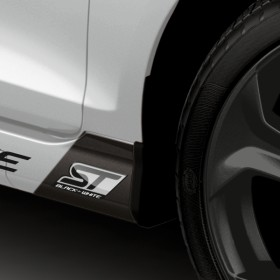 Ford Fiesta ST Black & White Edition 3D-Badge