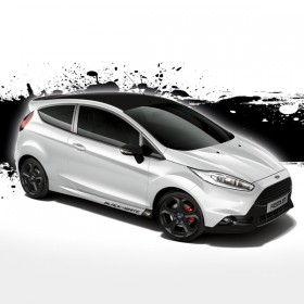 Ford Fiesta ST Black & White Edition Komplett-Set