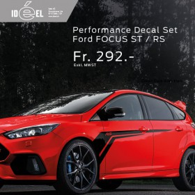 Ford Focus Performance Decal Set