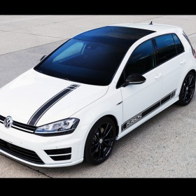 VW Golf R360S Sondermodell / Komplett-Kit Carbon Fibre