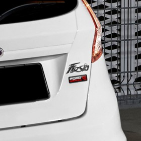 Ford Fiesta Swiss Edition 3D Badge