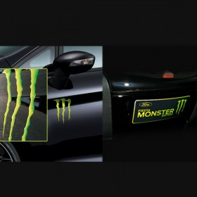 Ford Fiesta Monster Light Edition 3D-Badge