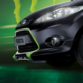 Ford Fiesta Monster Light Edition Frontbeschriftung