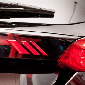 Ford Focus Magma Edition Heck 3D Badge