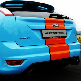 Ford Focus Heritage Edition Heckbeschriftung