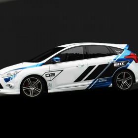 Ford Focus WTCC Edition Komplette Linke Seite