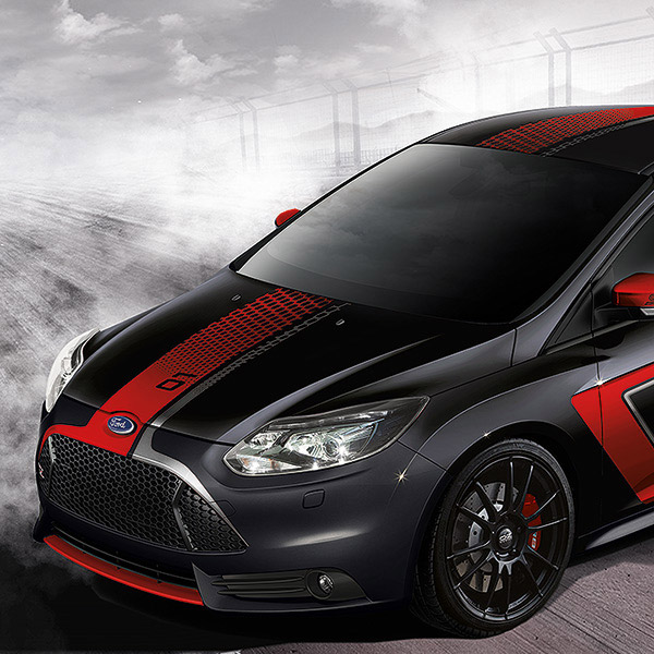 ford focus st le mans beschriftung ii preis auf anfrage. Black Bedroom Furniture Sets. Home Design Ideas