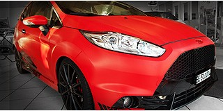 Ford Fiesta ST Red Carbon